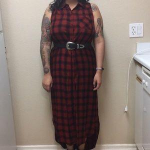 Mossimo plaid dress